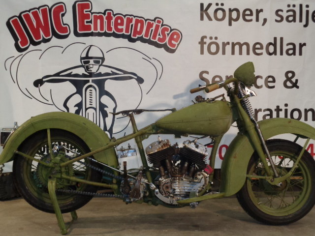Harley-Davidson WL 1946 For Sale (picture 2 of 6)