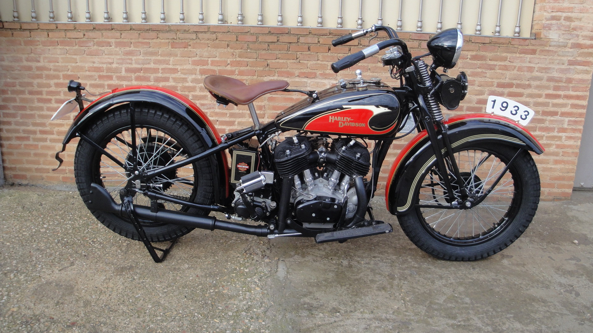 """1933 Harley davidson 33vf 74"""" special model For Sale (picture 1 of 6)"""