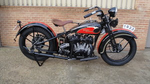 "1933 Harley davidson 33vf 74"" special model For Sale"
