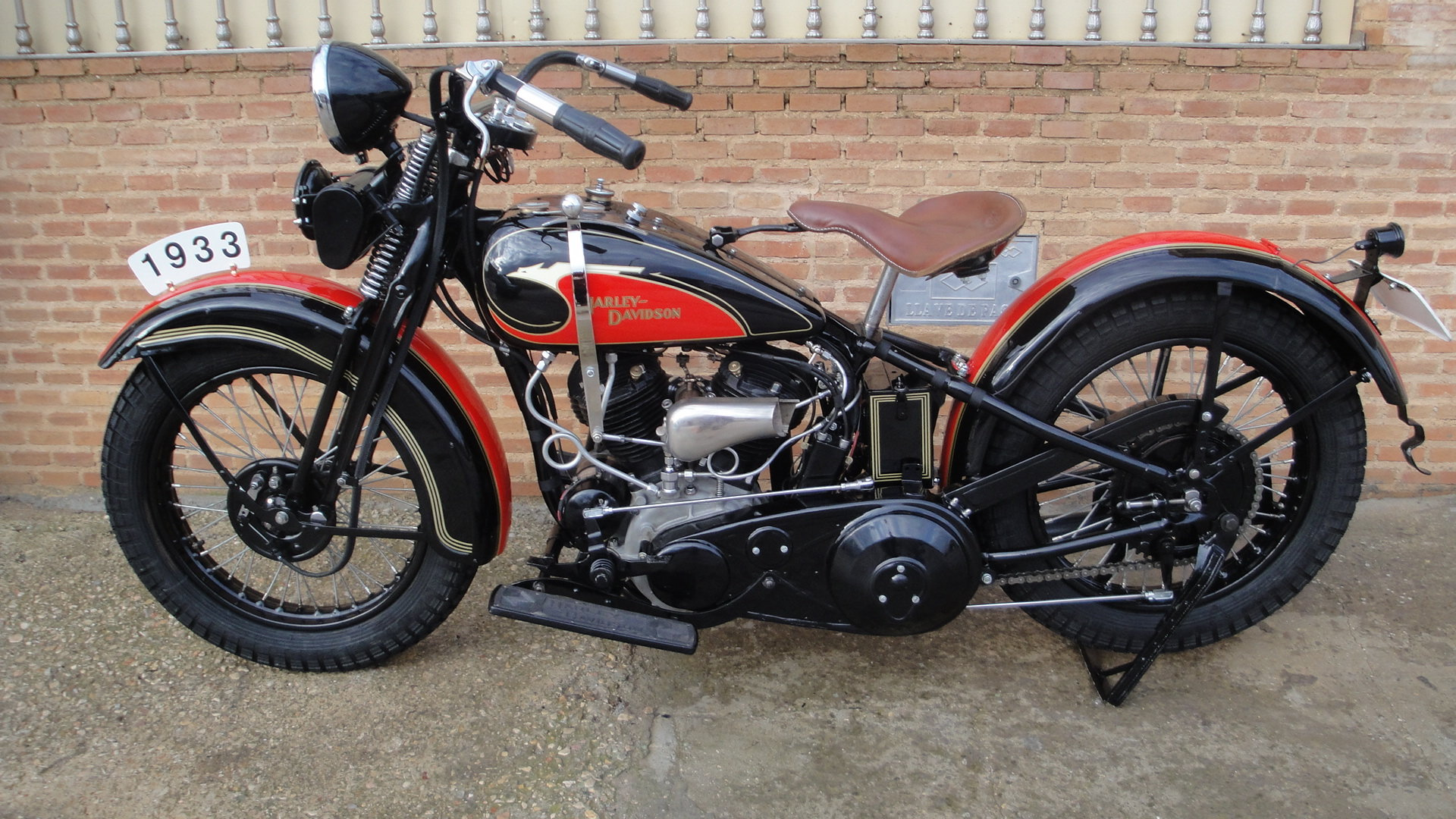 """1933 Harley davidson 33vf 74"""" special model For Sale (picture 2 of 6)"""