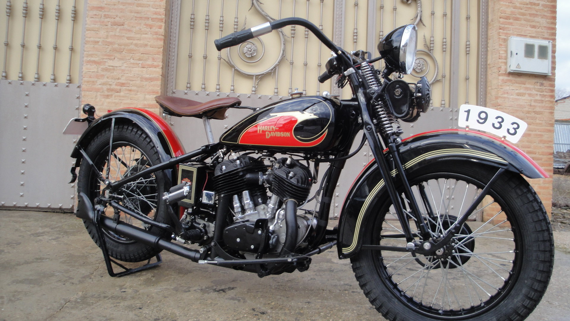 """1933 Harley davidson 33vf 74"""" special model For Sale (picture 6 of 6)"""