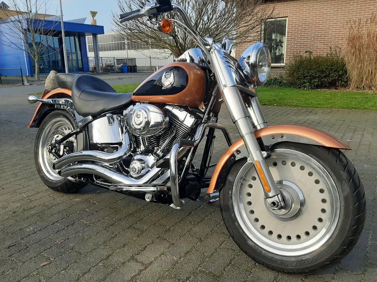 2007 Harley davidson Fat boy 105 th anniversary For Sale (picture 1 of 6)
