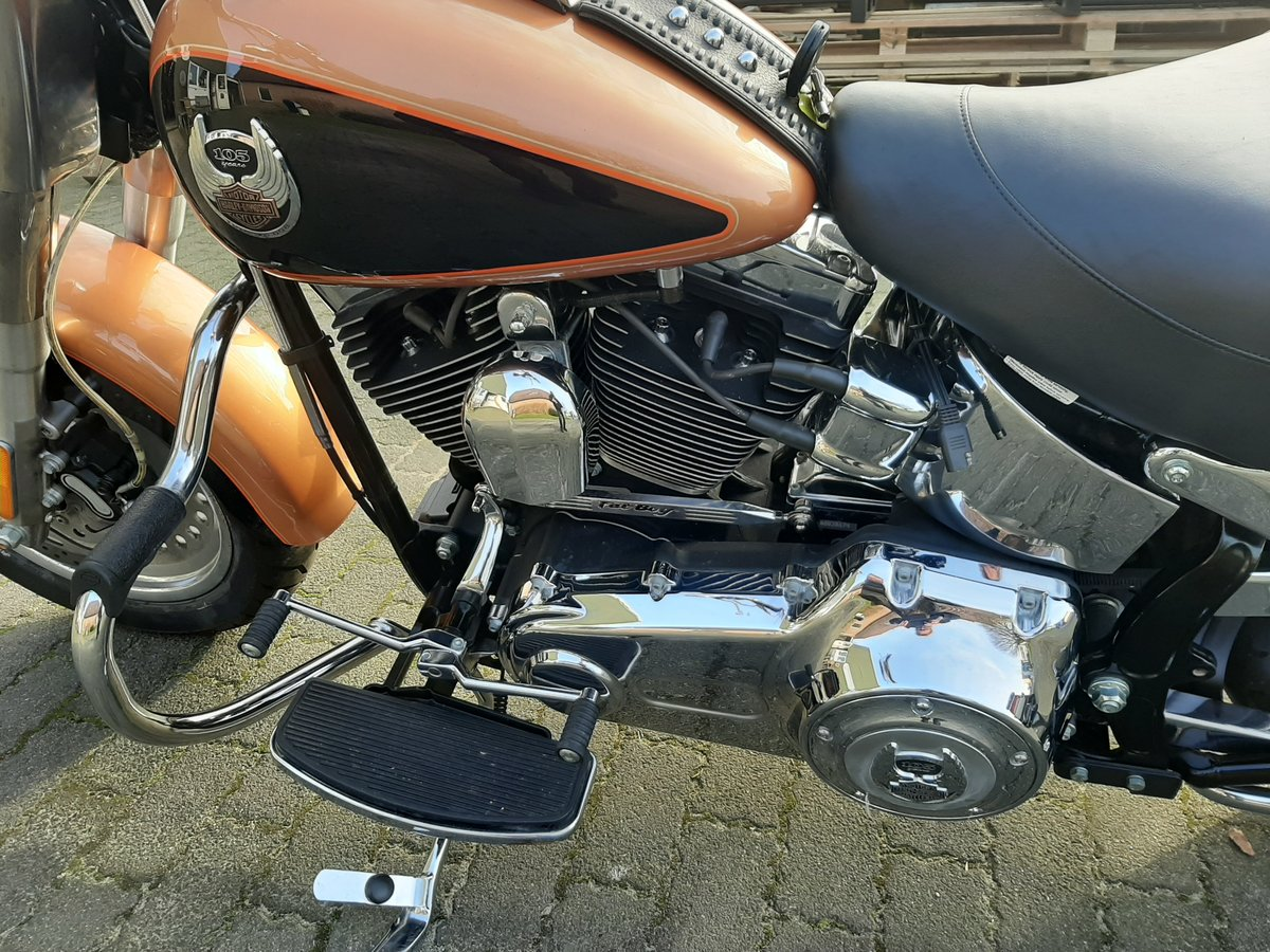 2007 Harley davidson Fat boy 105 th anniversary For Sale (picture 2 of 6)