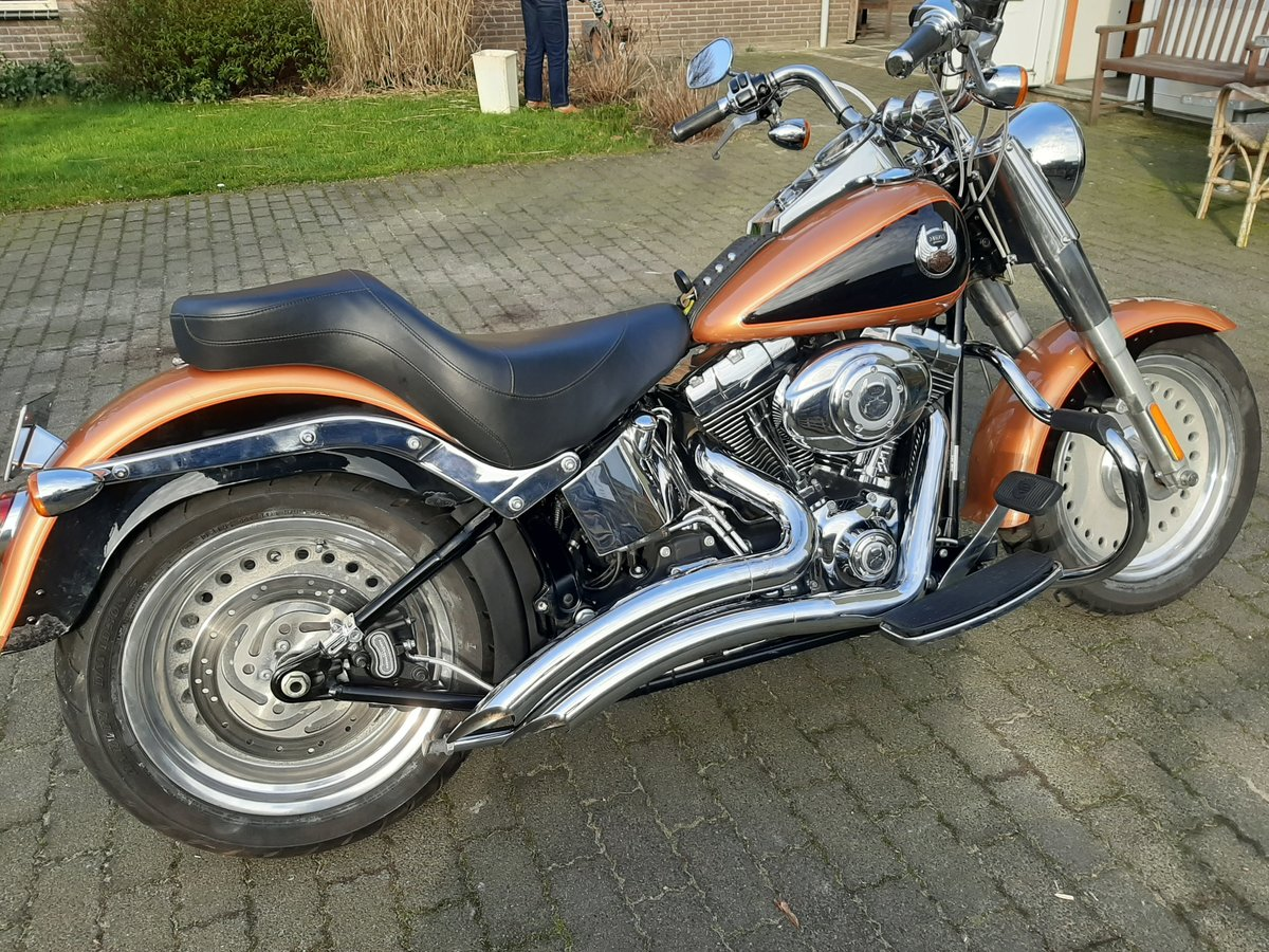 2007 Harley davidson Fat boy 105 th anniversary For Sale (picture 5 of 6)