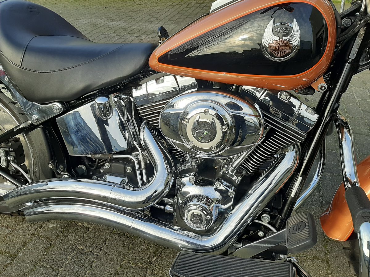 2007 Harley davidson Fat boy 105 th anniversary For Sale (picture 6 of 6)