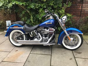 2017 Harley Davidson Softail Deluxe, Only 81miles, Stunning For Sale