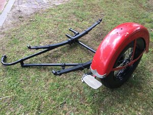 1947 side car chassis , for 1200 sv or knuckle or panhead etc  For Sale