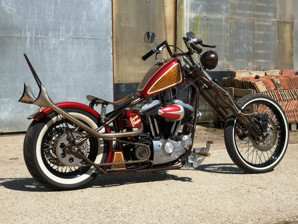 2001 Harley Davidson 1200 Chopper SOLD (picture 2 of 3)