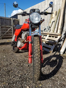 1995 Harley Davidson MT350 Red