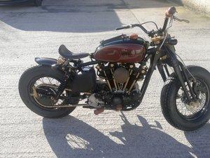 Harley Davidson Ironhead Project