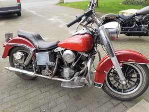 Harley davidson FLH electra glide 1982 SOLD
