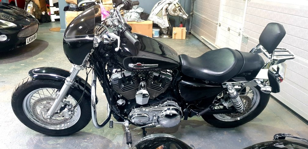 2016 Harley-Davidson XL1200C Sportster 1200 Custom, Stage On For Sale (picture 3 of 6)