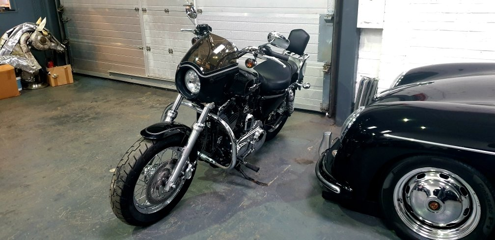 2016 Harley-Davidson XL1200C Sportster 1200 Custom, Stage On For Sale (picture 4 of 6)
