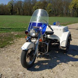 1973 Harley Davidson Servi-Car Trike Police