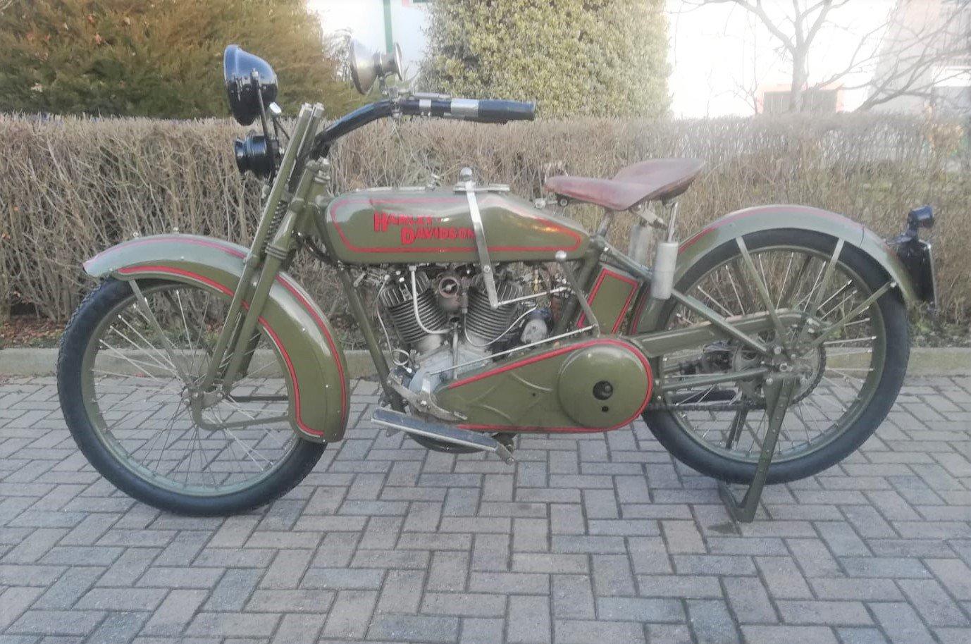1924 Harley Davidson JE 1200cc SOLD (picture 2 of 6)