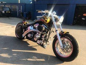 Harley Davidson softail chopper