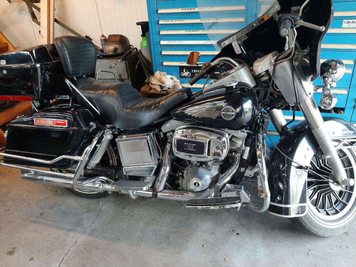 Harley davidson FLH electra glide 1981 For Sale (picture 5 of 6)