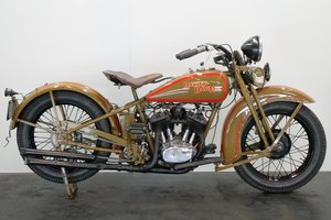 Harley Davidson Model DL 1931 750cc 2 cyl sv