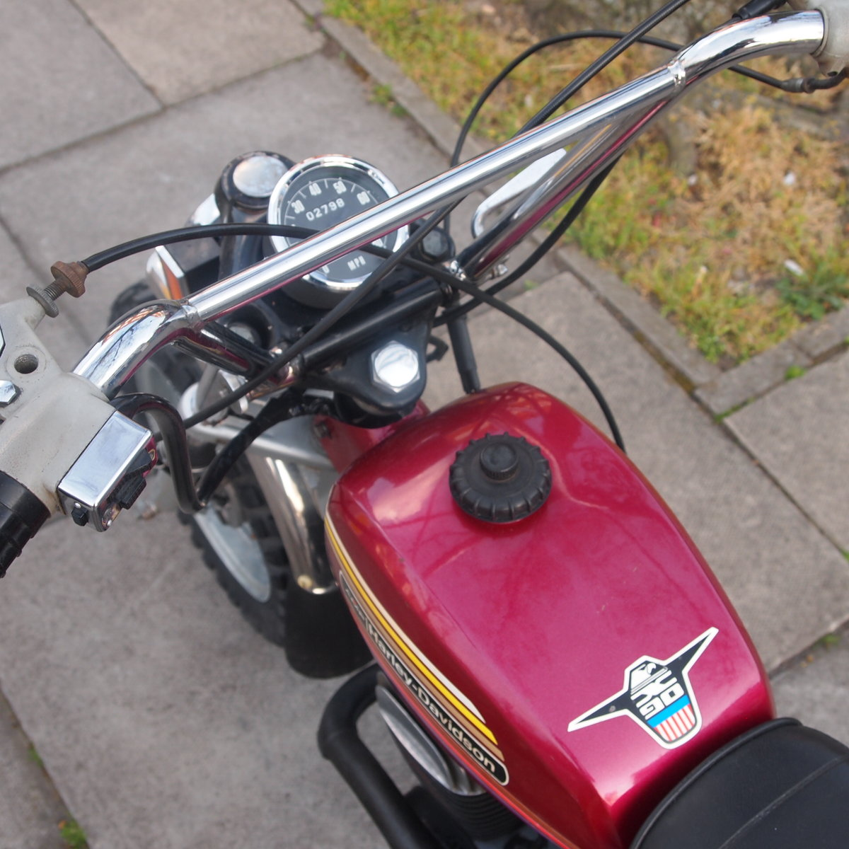 1975 Harley Davidson X90 Monkey Bike, Same Keeper 30 Years. For Sale (picture 2 of 6)