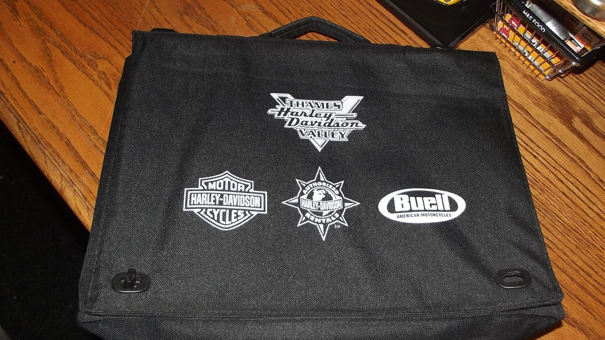 0000 HARLEY-DAVIDSON BRIEFCASE FOR SALE For Sale (picture 1 of 4)