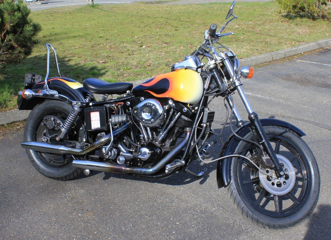 1981 Harley Davidson FXS Lowrider  SOLD by Auction (picture 1 of 4)