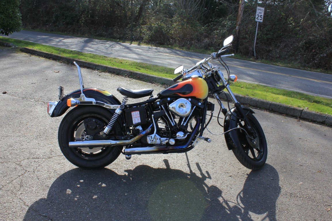 1981 Harley Davidson FXS Lowrider  SOLD by Auction (picture 3 of 4)