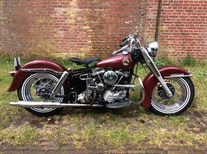 harley davidson duo glide 1958 SOLD