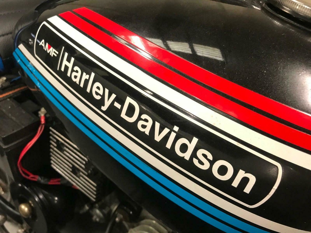 1972 HARLEY DAVIDSON AMF 125 - VERY VERY RARE BIKE INDEED For Sale (picture 3 of 5)