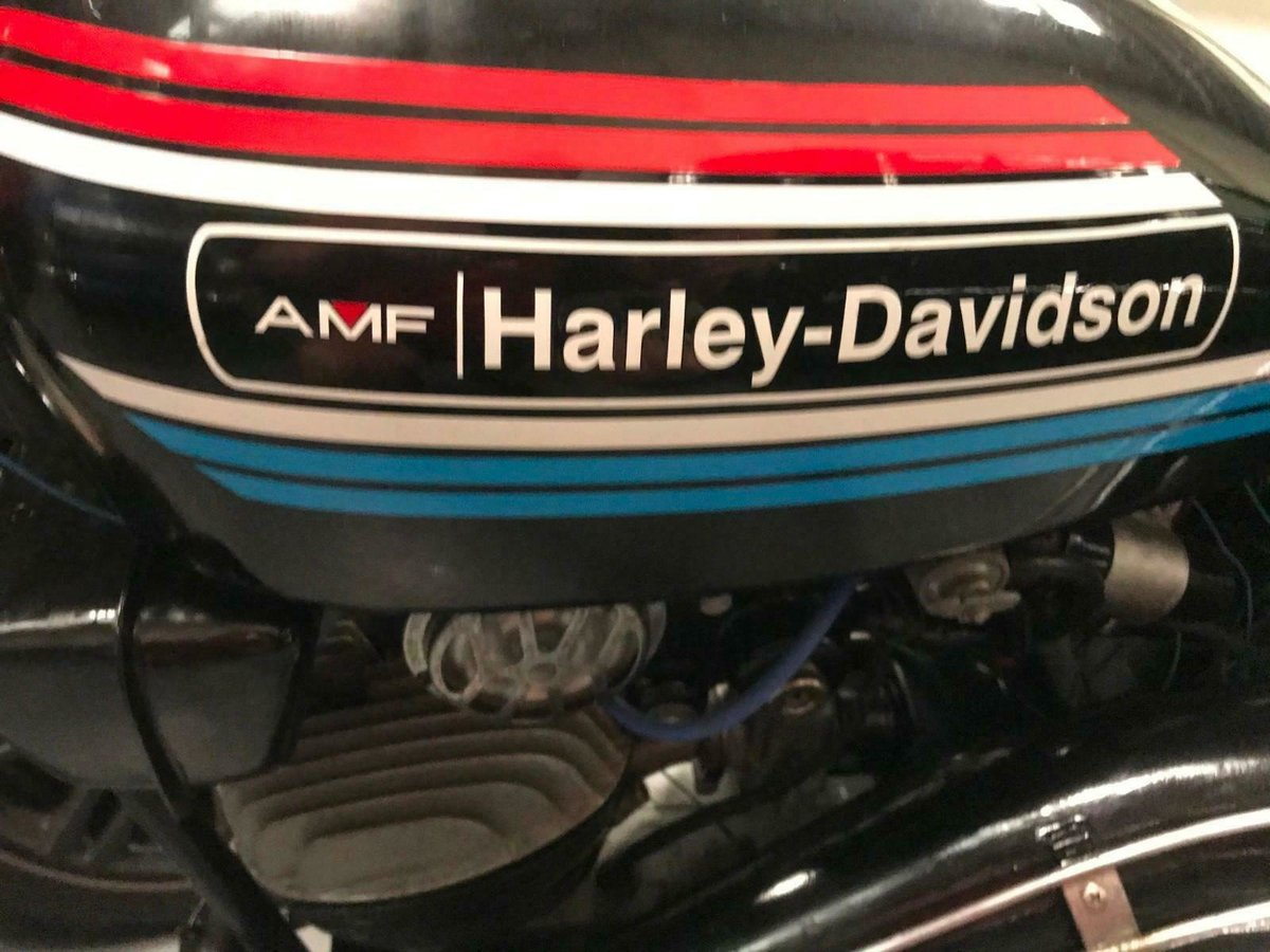 1972 HARLEY DAVIDSON AMF 125 - VERY VERY RARE BIKE INDEED For Sale (picture 5 of 5)