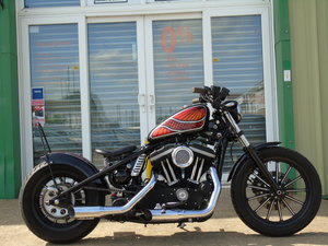 Harley-Davidson XL 883 Iron One Off Custom Bobber £££ Spent