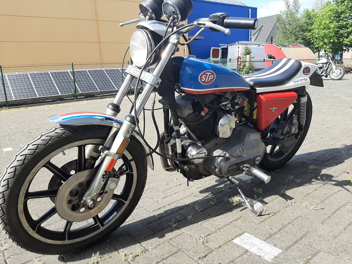 harley davidson XLH sportster 1979 evil knievel SOLD (picture 3 of 6)
