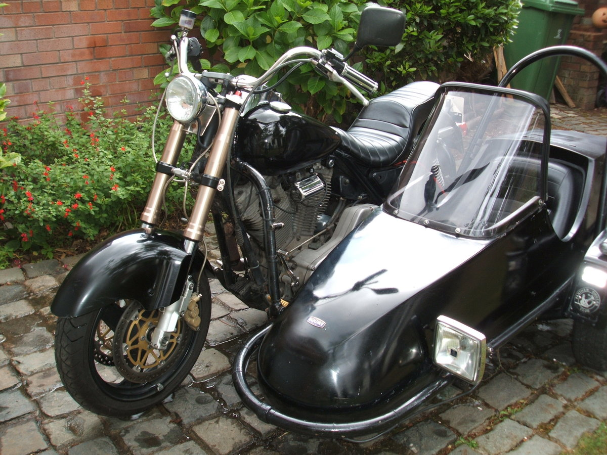 1992 Harley FXR with sidecar now with MOT For Sale (picture 2 of 6)