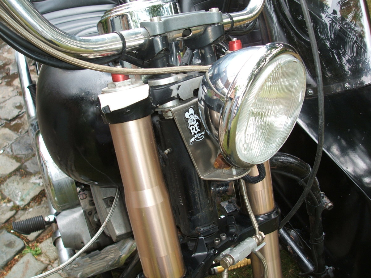 1992 Harley FXR with sidecar now with MOT For Sale (picture 5 of 6)