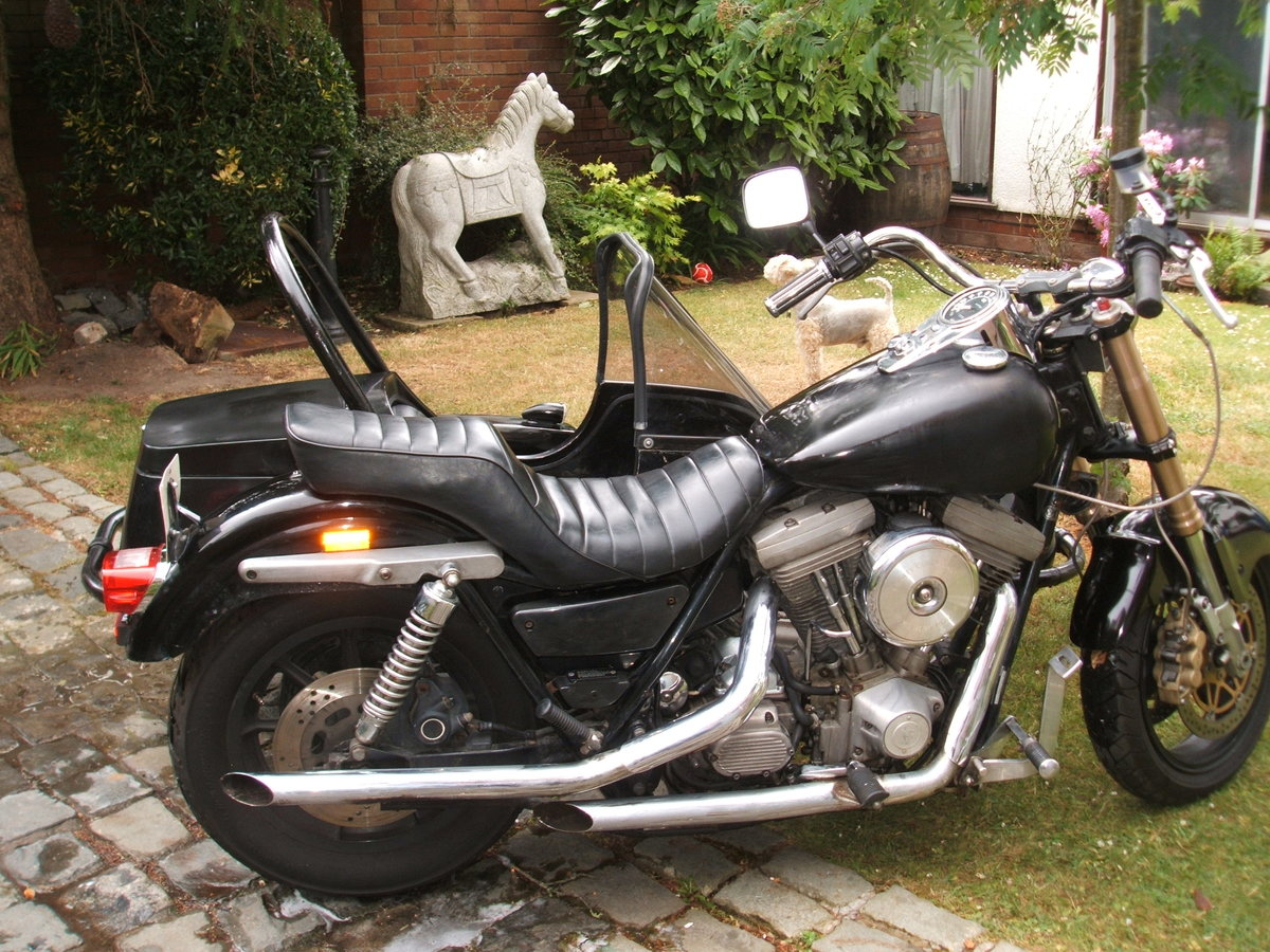 1992 Harley FXR with sidecar now with MOT For Sale (picture 6 of 6)