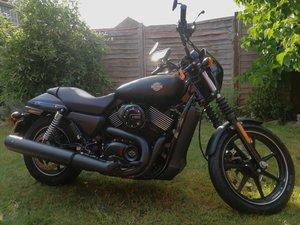 2016 Harley Davidson Street 750 1890 miles