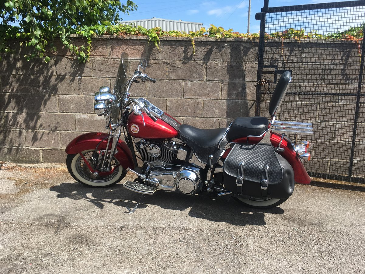 2001 FLSTS Heritage Springer Softail Offers Invited For Sale (picture 2 of 6)
