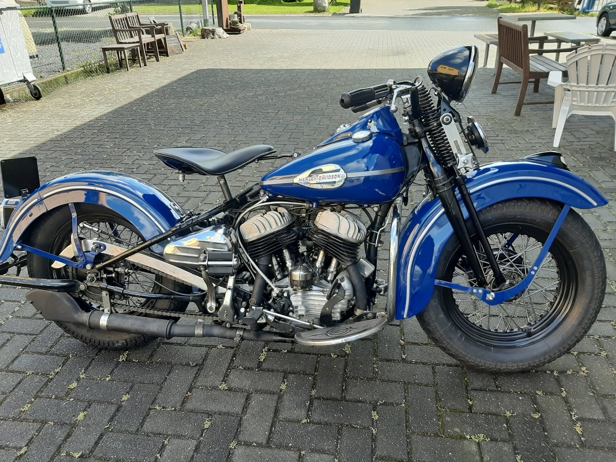 Harley Davidson WLC 1943  SOLD (picture 1 of 6)