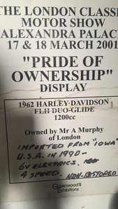 Harley davidson flh duoglide