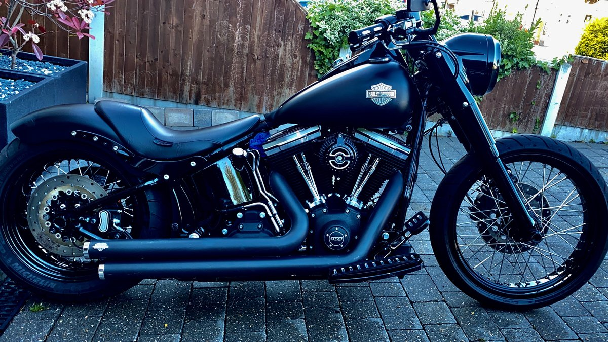 2013 Harley davidson fls softail slim ((custom)) For Sale (picture 1 of 5)