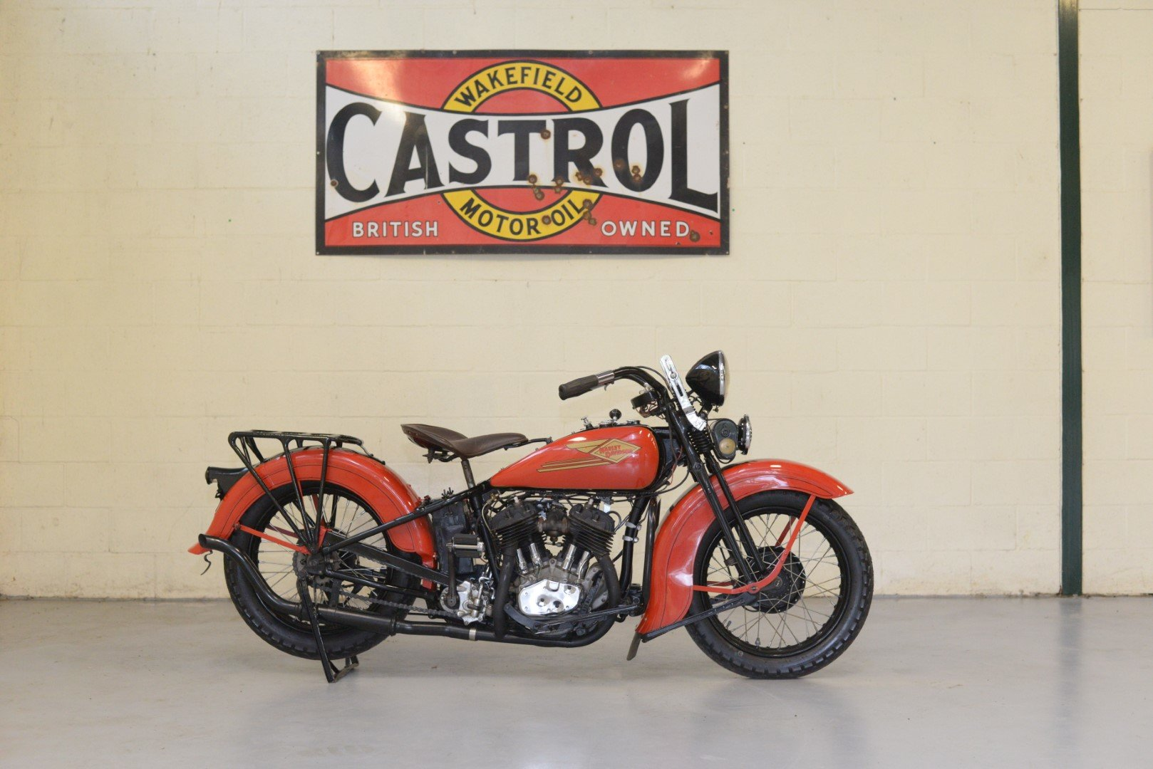 1934 HARLEY-DAVIDSON R45 750cc TWIN For Sale by Auction (picture 1 of 6)