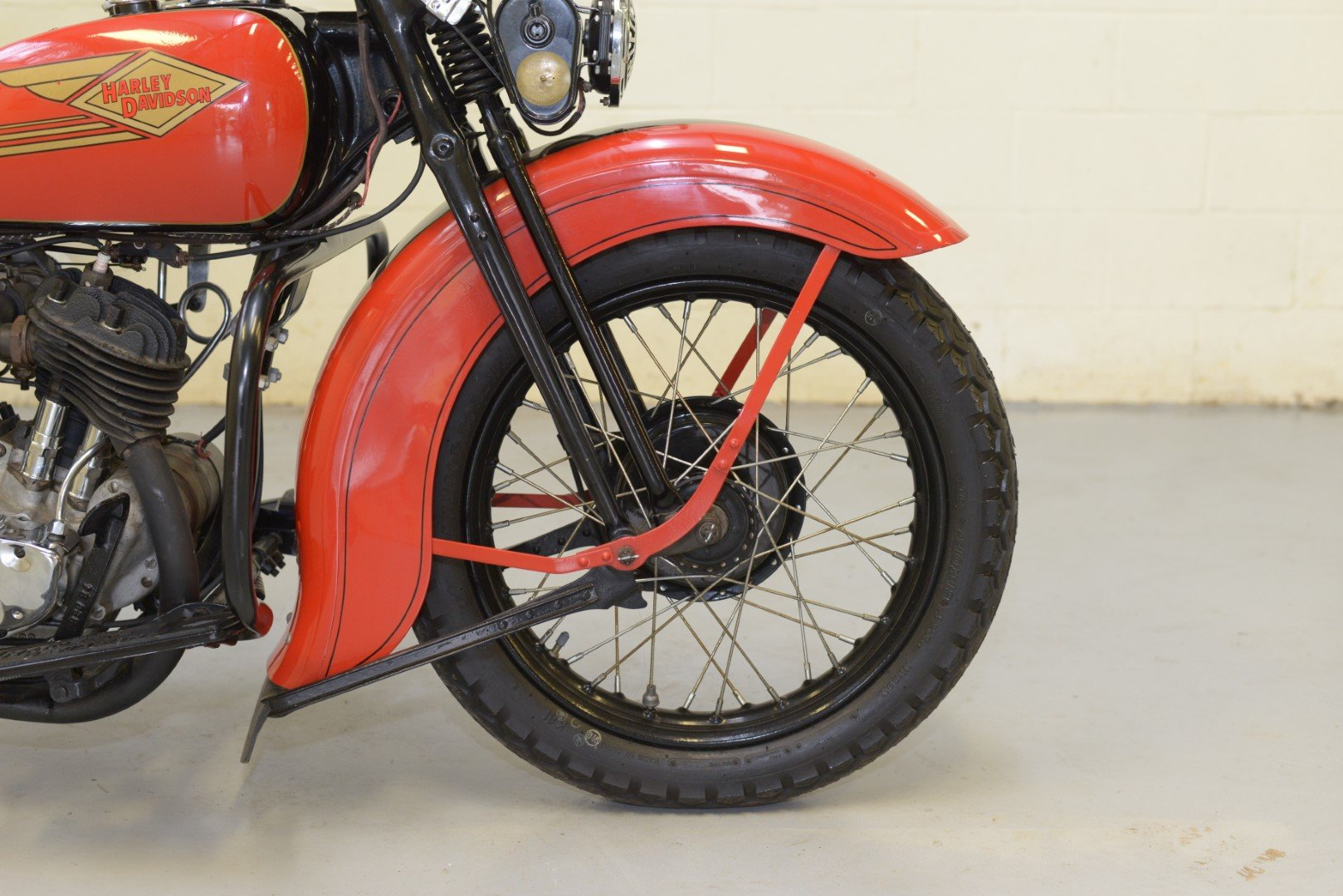 1934 HARLEY-DAVIDSON R45 750cc TWIN For Sale by Auction (picture 3 of 6)