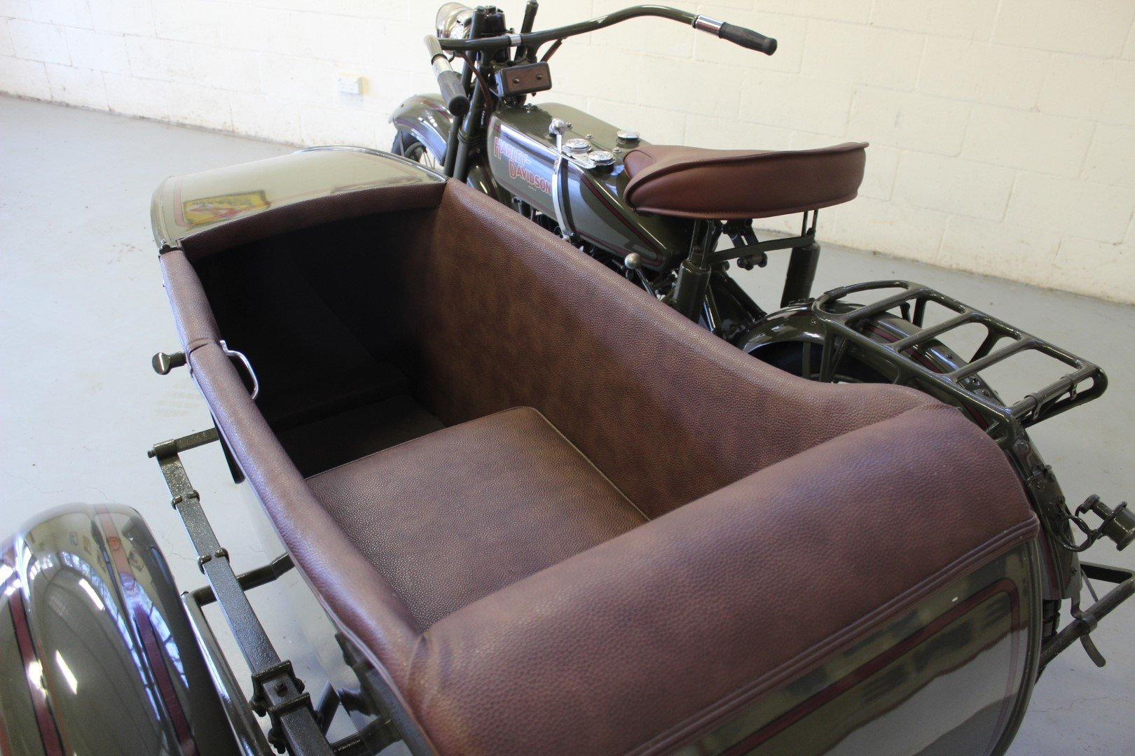 1924 HARLEY-DAVIDSON 1,000CC MODEL JE WITH SIDECAR For Sale by Auction (picture 2 of 6)