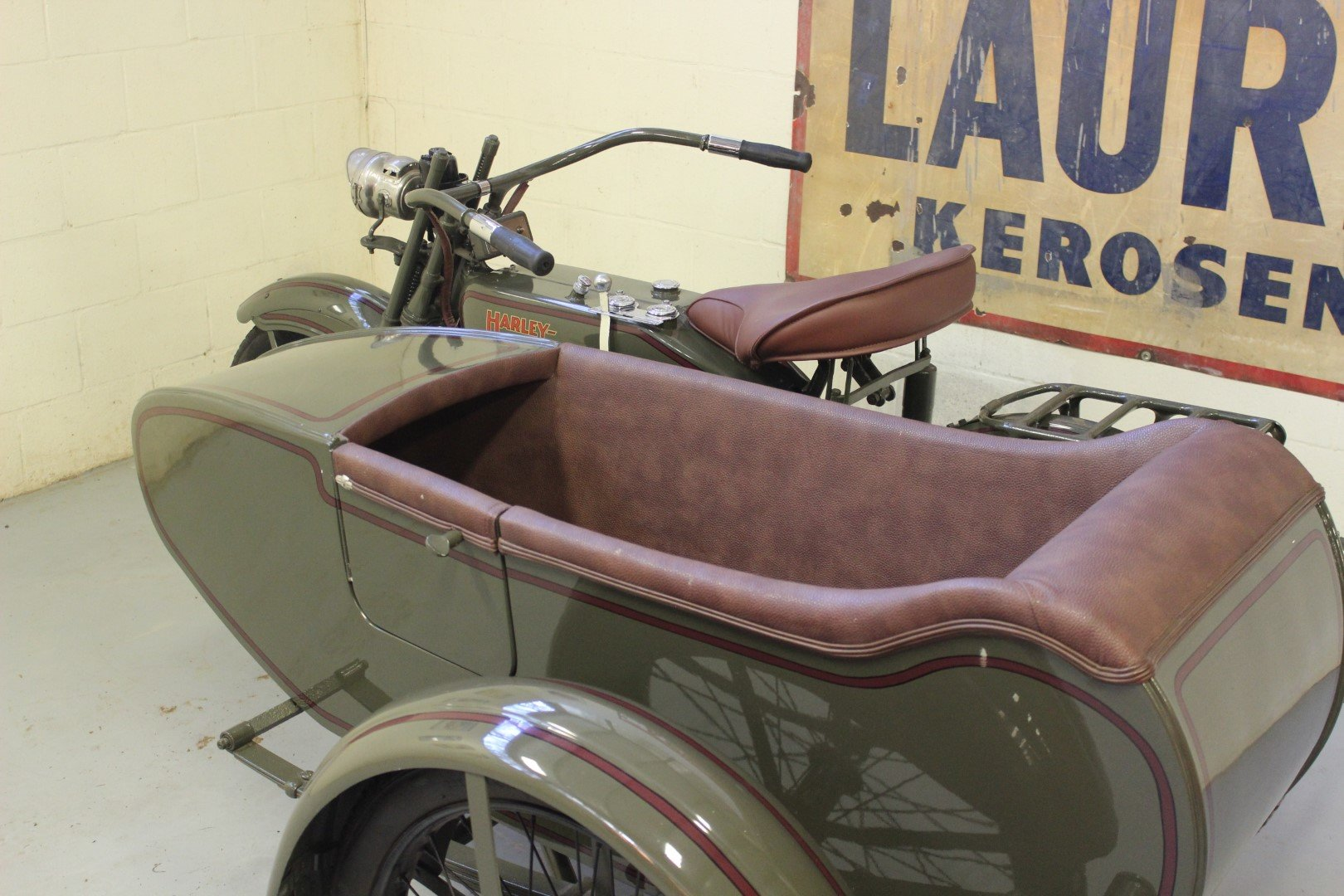 1924 HARLEY-DAVIDSON 1,000CC MODEL JE WITH SIDECAR For Sale by Auction (picture 4 of 6)