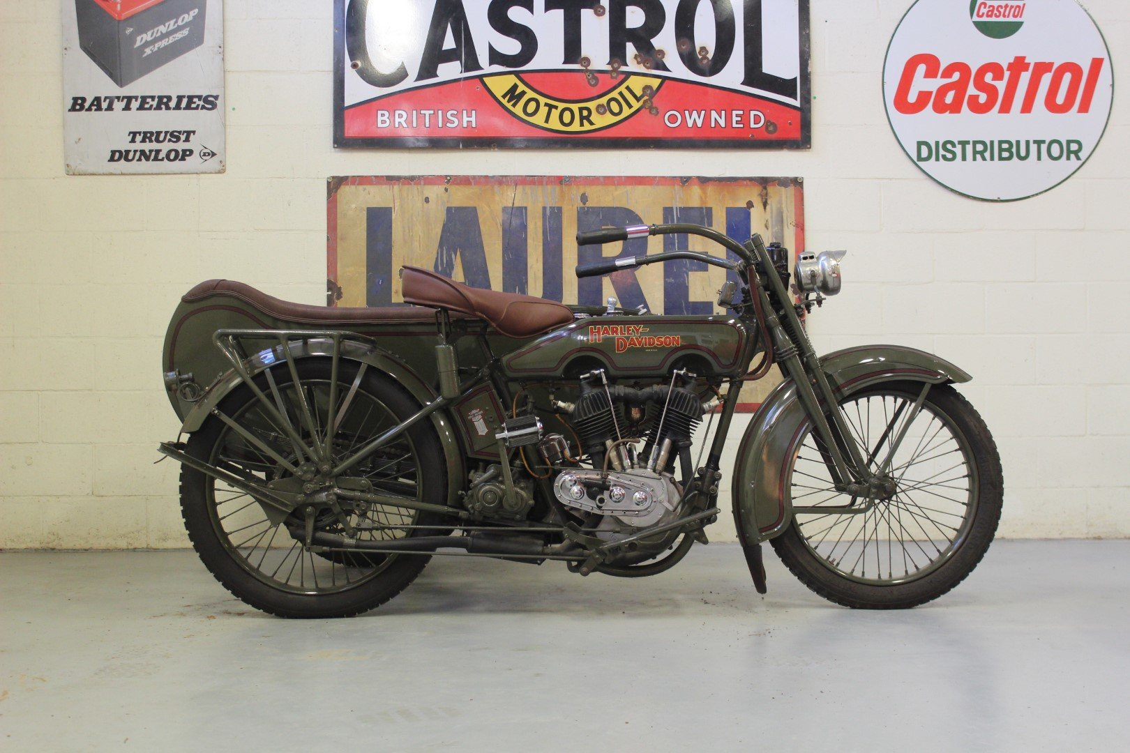 1924 HARLEY-DAVIDSON 1,000CC MODEL JE WITH SIDECAR For Sale by Auction (picture 5 of 6)