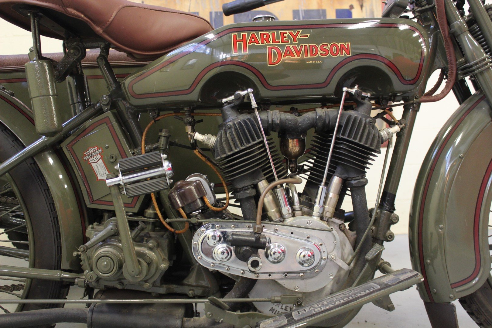 1924 HARLEY-DAVIDSON 1,000CC MODEL JE WITH SIDECAR For Sale by Auction (picture 6 of 6)