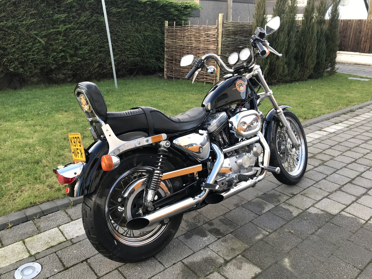 1993 Harley DavidsonXLH 1200 Sportster For Sale (picture 3 of 5)