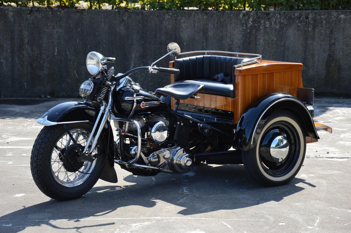 1949 (1061) Harley Davidson Servicar 750 G For Sale (picture 1 of 6)