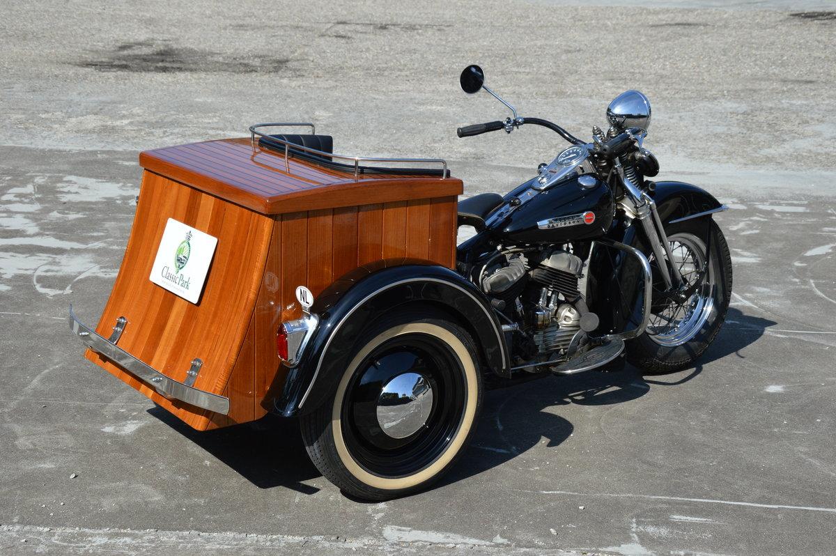 1949 (1061) Harley Davidson Servicar 750 G For Sale (picture 2 of 6)