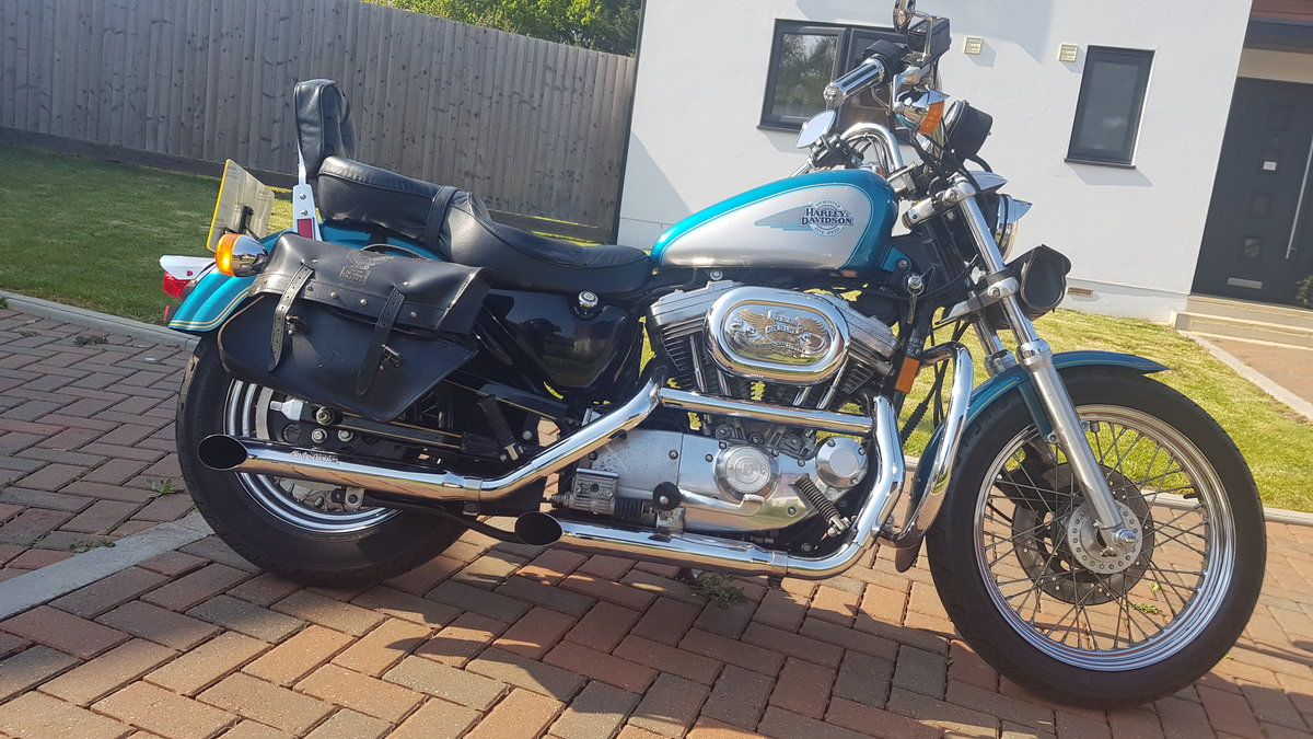 1995 Harley Davidson 883 with loads of extras may P/X For Sale (picture 2 of 6)