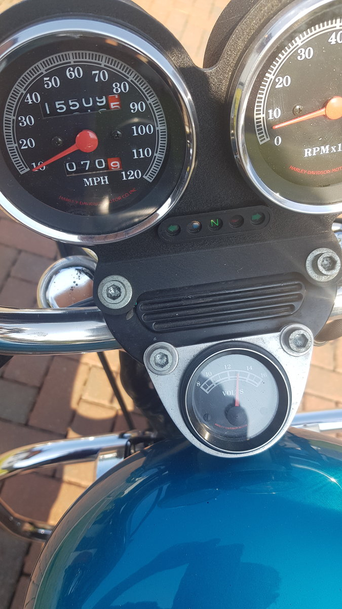 1995 Harley Davidson 883 with loads of extras may P/X For Sale (picture 4 of 6)